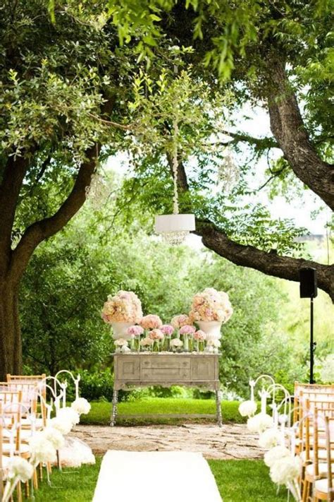 Backyard Wedding Ceremony Decoration Ideas Picture Of Amazing Backyard Wedding Ceremony Decor Ideas 9