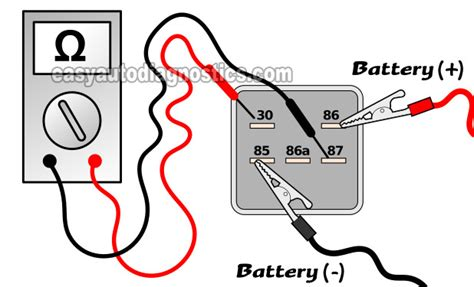 how test fuel pump relay on a 1995 mitsubishi galant part 3 testing the fuel pump relay 1997 1999 chevy gmc