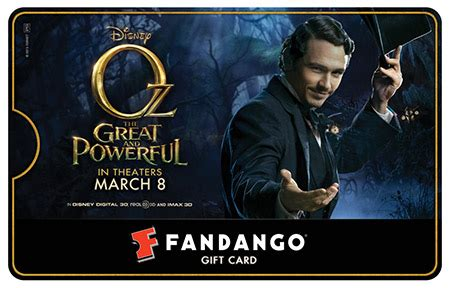 What Movie Theaters Take Fandango Gift Cards - oz fandango gift card giveaway what is your favorite james franco movie fandango