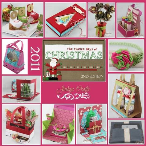 twelve days of christmas crafts 12 days of craft tutorials second edition jinkys crafts