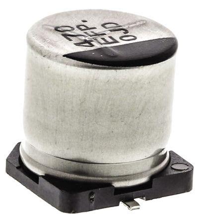 panasonic smd capacitor footprint eeefp1e471ap panasonic aluminium electrolytic capacitor 470μf 25v dc 10mm surface mount g fp