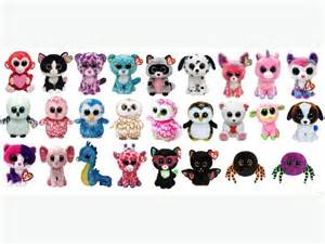 beanie boos collection names images
