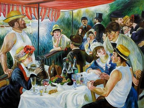 luncheon of the boating party pdf home d 233 cor top 10 oil paintings for the summer