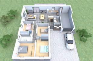 plan de gratuit 4 chambres