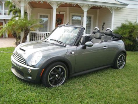 how to fix cars 2005 mini cooper security system buy used 2005 mini cooper s convertible 2 door 1 6l in north palm beach florida united states