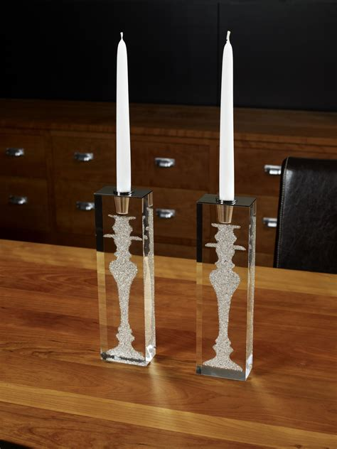 Thin Candlestick Holders Implexions Iconic Candle Holder Thin