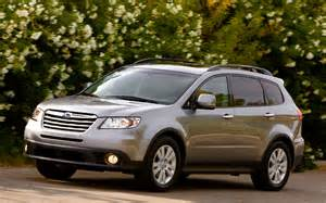 Subaru Tribeca 2012 Review 2012 Subaru Tribeca Front View Photo 7