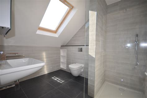 bathroom in loft conversion loft bathroom on pinterest attic bathroom loft