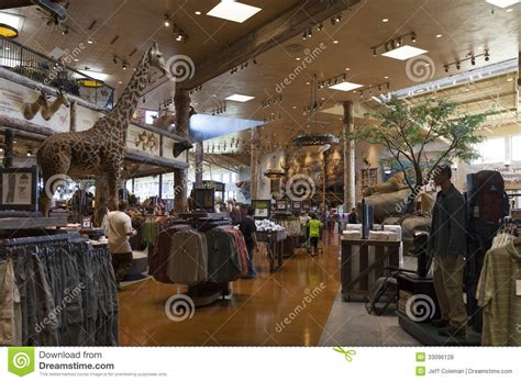 L Shops by Bass Pro Shop Interior At The Silverton Hotel In Las Vegas