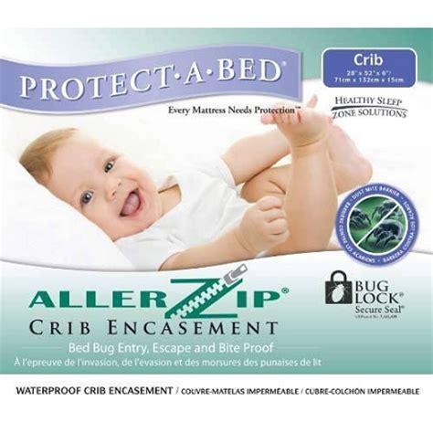 crib mattress encasement allerzip crib encasement