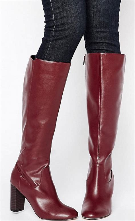 kate hudson in oxblood thigh high boots