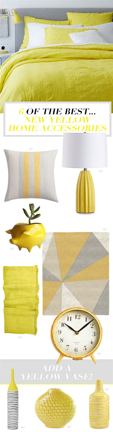 Bright Yellow Accessories by Six Of The Best Yellow Home Accessories Bright Bazaar By