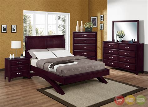 low profile bedroom sets vera modern low profile bed contemporary bedroom set free