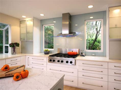 kitchen cabinets with windows modern kitchen window treatments hgtv pictures ideas