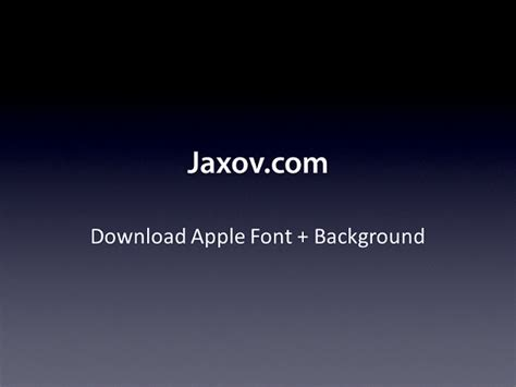 apple ppt template apple keynote font and blue background for powerpoint