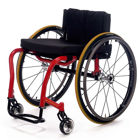 Ultra Light Folding Chair Invacare Top End Crossfire T6 Wheelchair