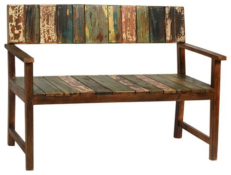 rustic benches indoor old boat wood bench rustic indoor benches other