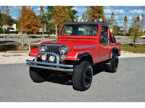 scrambler jeep jeep cj8 for sale 100 used cars from 2 000