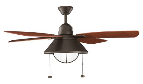 kichler outdoor ceiling fans kichler olde bronze 54in outdoor ceiling fan with 4