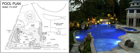 pool plans by design pool designs nj nj landscape design swimming pool