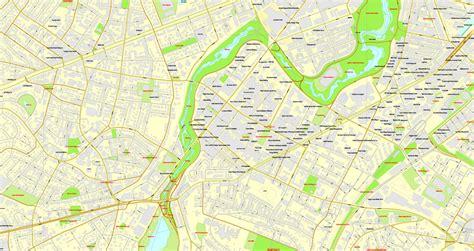 road map boston usa boston massachusetts us exact map printable city plan