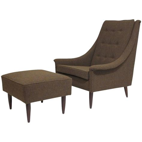 mid century chair and ottoman mid century danish selig lounge chair and ottoman for sale