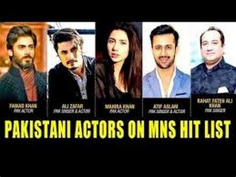 list of pakistani actors working in india pakistani actor are kick out from bollywood but indian