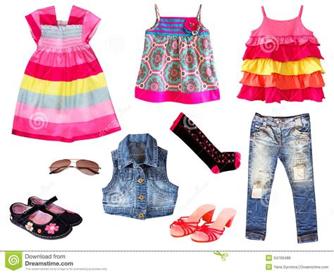 kid clothing isolated stock photo image of pink