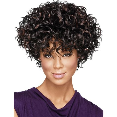 best shoo for curly ethnic hair top quality curly hairstyle highlight brown color capless