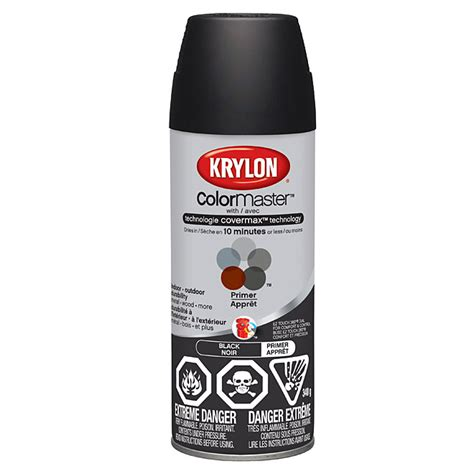home depot krylon paint krylon colormaster tm paint and primer black r 233 no d 233 p 244 t