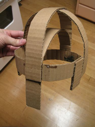 How To Make A Paper Helmet That You Can Wear - flickriver photoset partial of cardboard