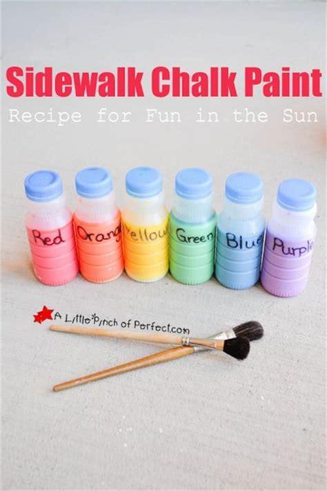 diy chalk paint using cornstarch sidewalk chalk paint recipe for diy sidewalk