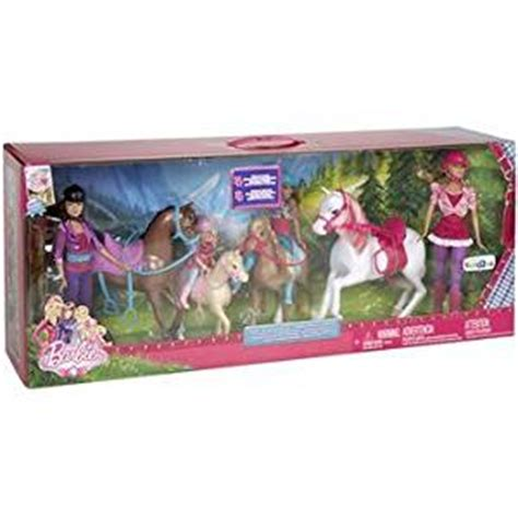 barbie sisters horse adventure play set toy review amazon com barbie her sisters in a pony tale horse
