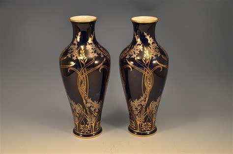 vasi sevres pair sevres porcelain lustre vases nouveau