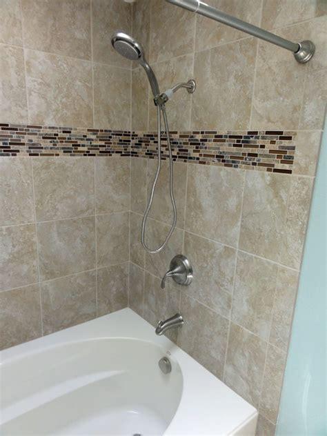 install shower head in bathtub installing a kohler acrylic windward 194 174 tub k 1113 60 quot x