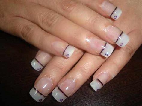 imagenes de uñas de acrilico faciles y bonitas u 241 as decoradas a mano sencillas imagui