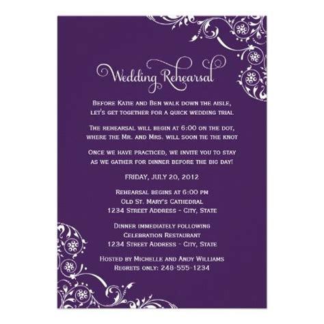 wedding rehearsal dinner invitation wording sles best 25 dinner invitation wording ideas on