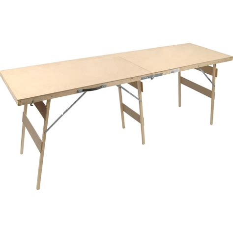 Professional Tables by Prep Professional Mdf Paste Table 56 X 200cm Toolstation