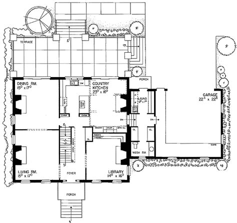 georgian mansion floor plans classical georgian mansion 81131w georgian traditional 2nd floor master suite den office