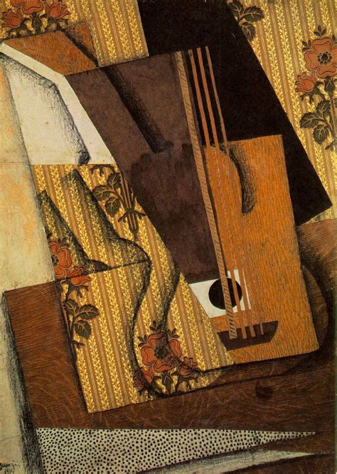 Synthetischer Kubismus Picasso by Quadri Di Gris Juan