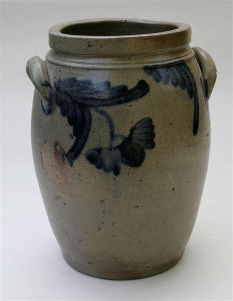 Top 28 Antique Jars Large Antique American Stoneware Cobalt Decorated Ovoid One Gallon Storage Jar Pennsylvania