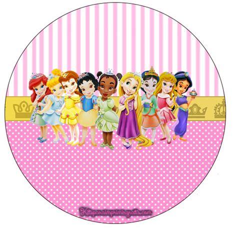 imagenes infantiles redondas etiquetas redondas para imprimir princesas beb 233 s imagui