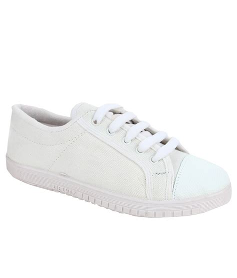 footfun by liberty white school shoes price in india buy