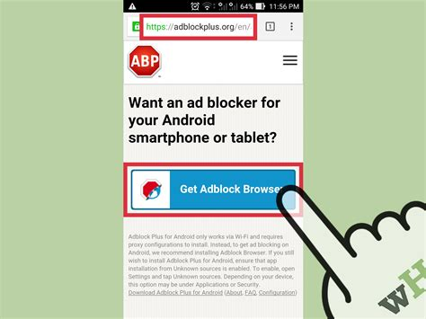 how to disable adblock on android 4 simple ways to block ads on wikihow