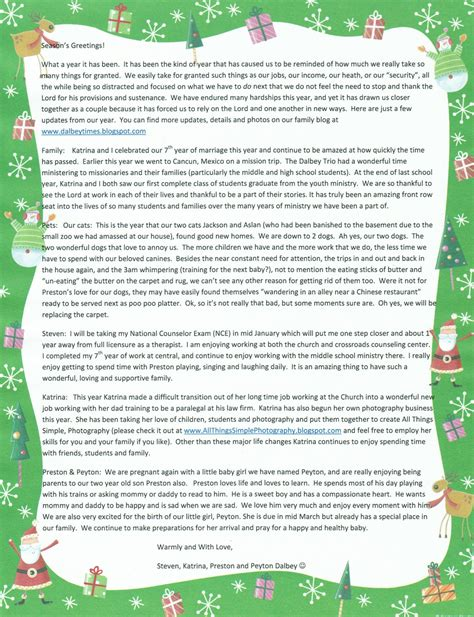 merry christmas letter for a professor sle new