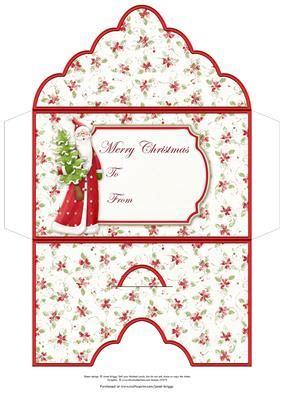 printable christmas money envelopes santa christmas money wallet gift envelope on craftsuprint