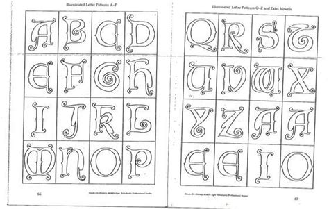 medieval alphabet coloring pages pinterest the world s catalog of ideas