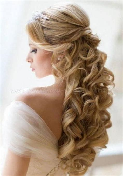 bridal hairstyles down dos 15 inspirations of long hairstyles down for wedding