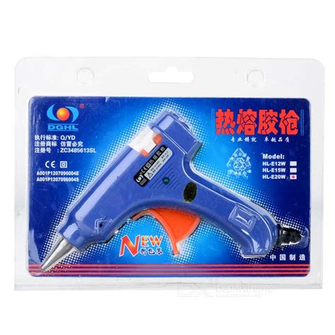 Glue Gun 20 Watt 100 240 Volt 20w melt glue gun 100 240v free shipping dealextreme
