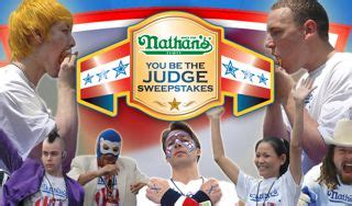Famous Sweepstakes - did someone say nathan s famous